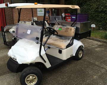 Golf buggies for sale UK from Motorculture Limited