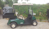 Ezgo Electric Petrol buggy fitted with Cargo Box