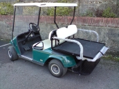 Ezgo Electric Petrol Buggy with flip Seat Conversion